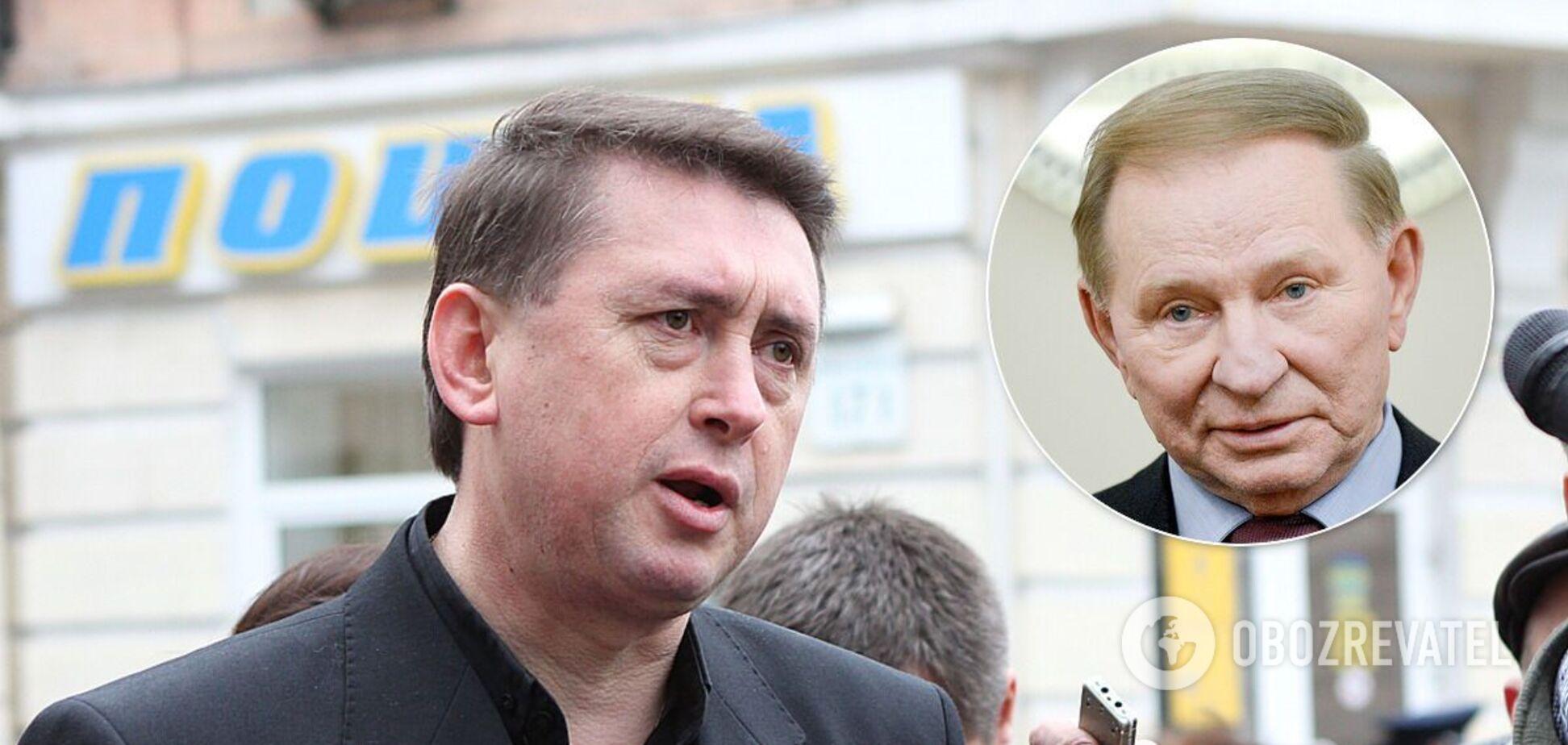 Мельниченко розповів про 100 млн від Кучми