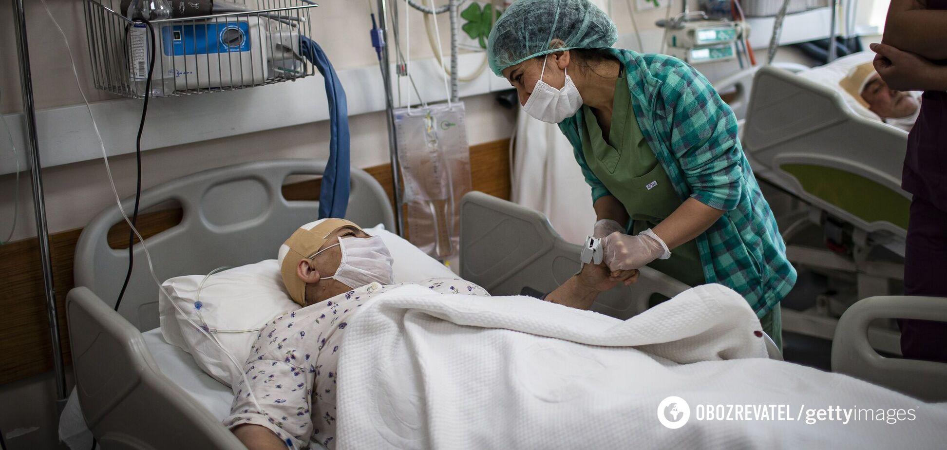 В Украине снизилась загруженность коек больными COVID-19