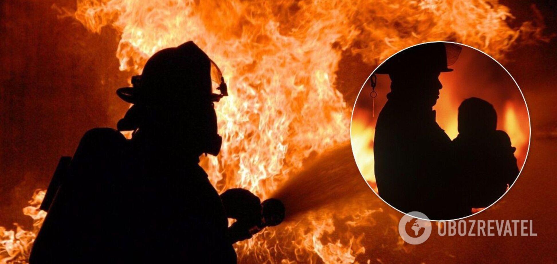 На Днепропетровщине двое маленьких детей сгорели в квартире