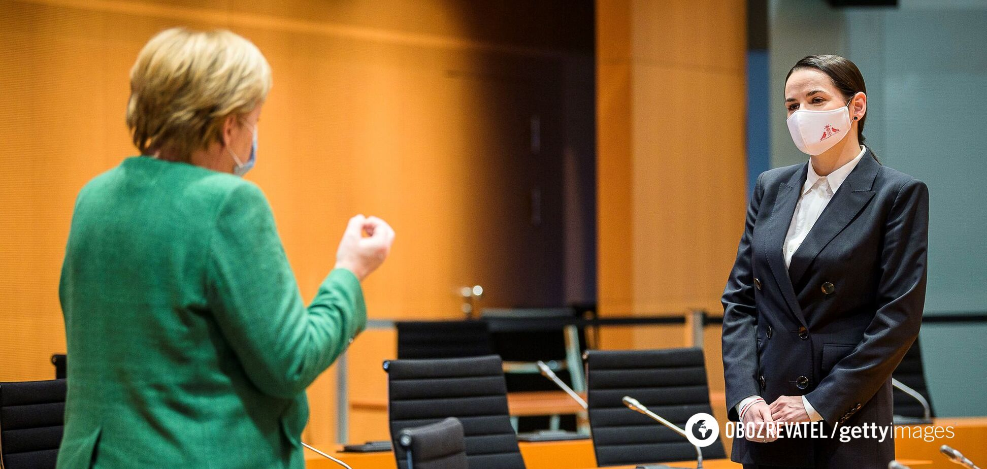 Тихановская рассказала, как говорила с Меркель об украинском языке