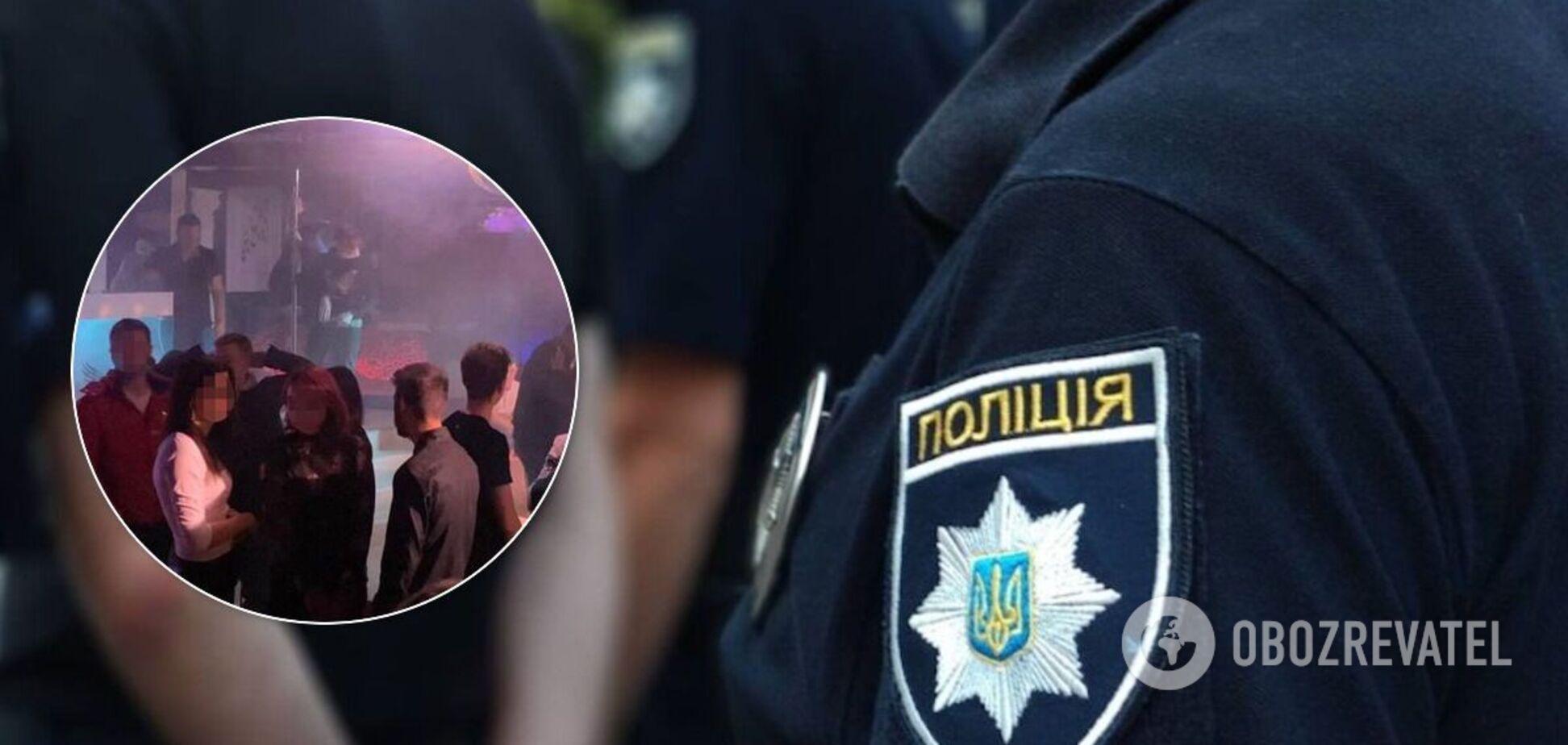 Во Львове полиция закрыла ночной клуб, который работал во время карантина