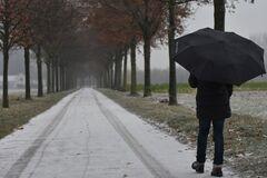 В Украине пройдут дожди со снегом