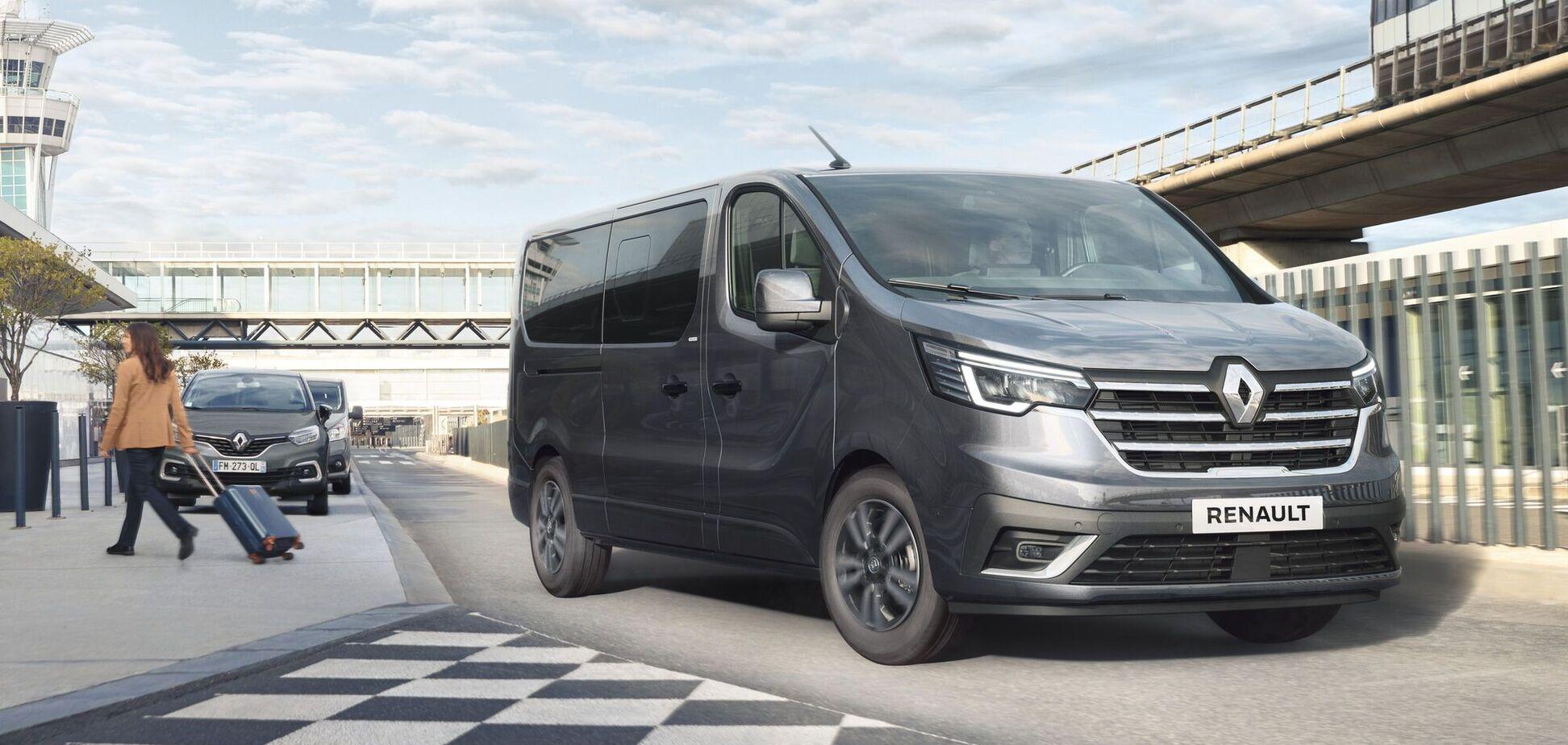 Renault відзначила 40-річчя Trafic оновленою моделлю