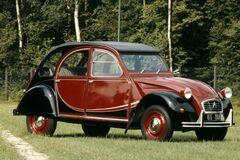 Компания Citroën отмечает 40-летие модели 2CV6 Charleston