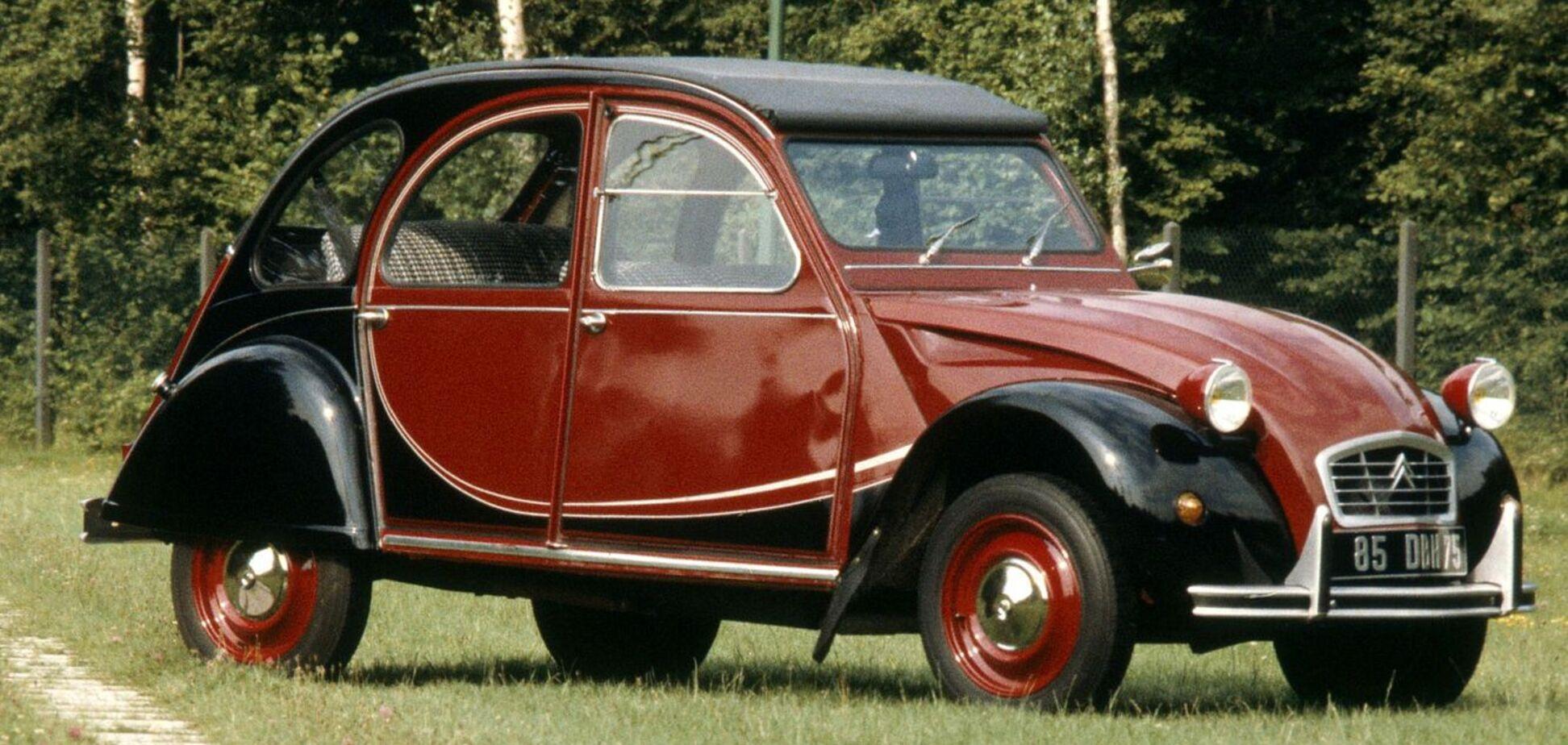 Компанія Citroën відзначає 40-річчя моделі 2CV6 Charleston
