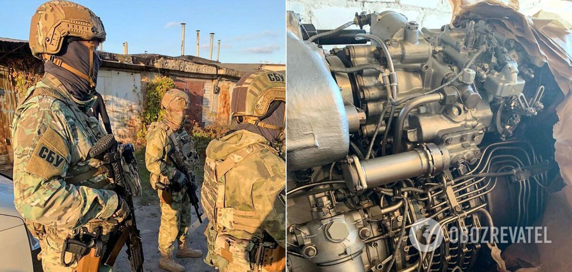 Украинский чиновник продавал в Россию краденные запчасти для военной техники. Фото