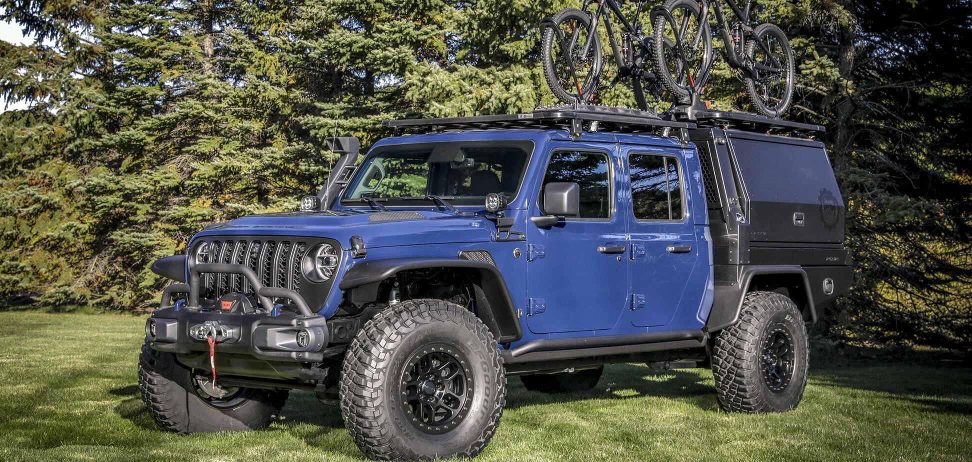 Компанія Jeep підготувала до виставки SEMA360 незвичайний пікап
