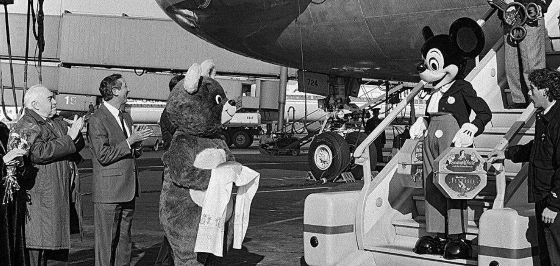 Микки-Маус впервые официально посетил СССР в 80-х