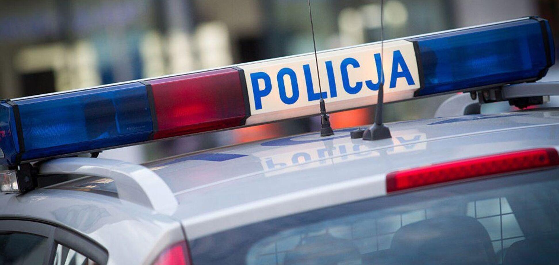 В Польше украинец пытался скрыться от полиции