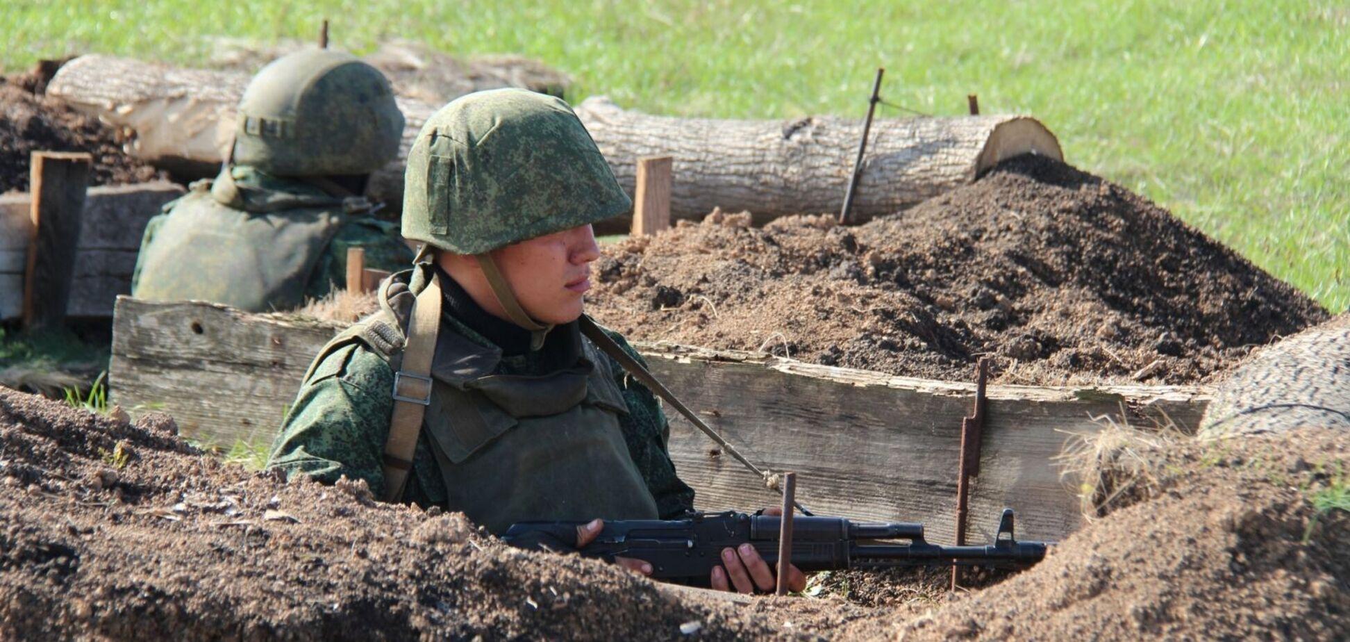Бойовики укріплюють позиції на Донбасі