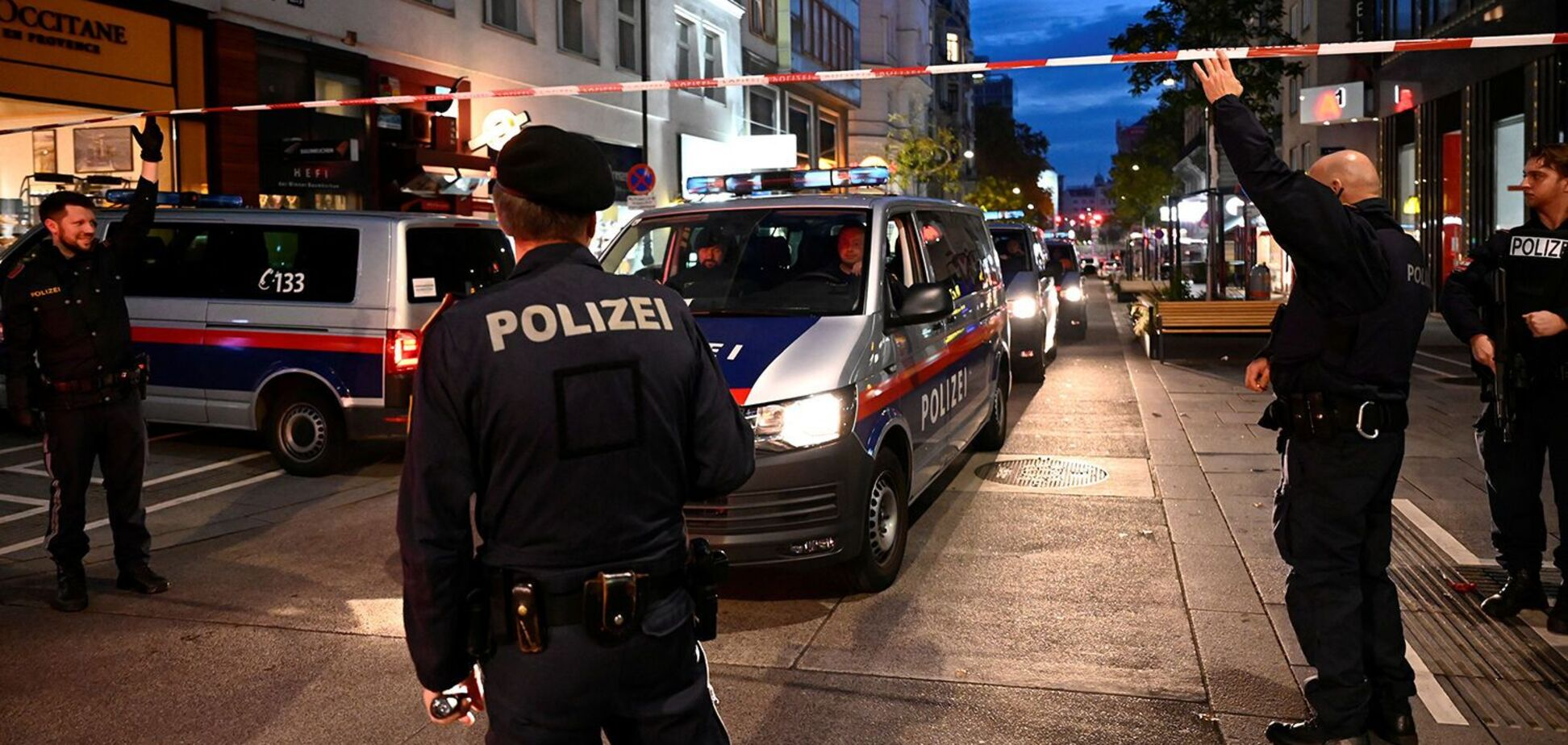 В столице Австрии Вене случился теракт