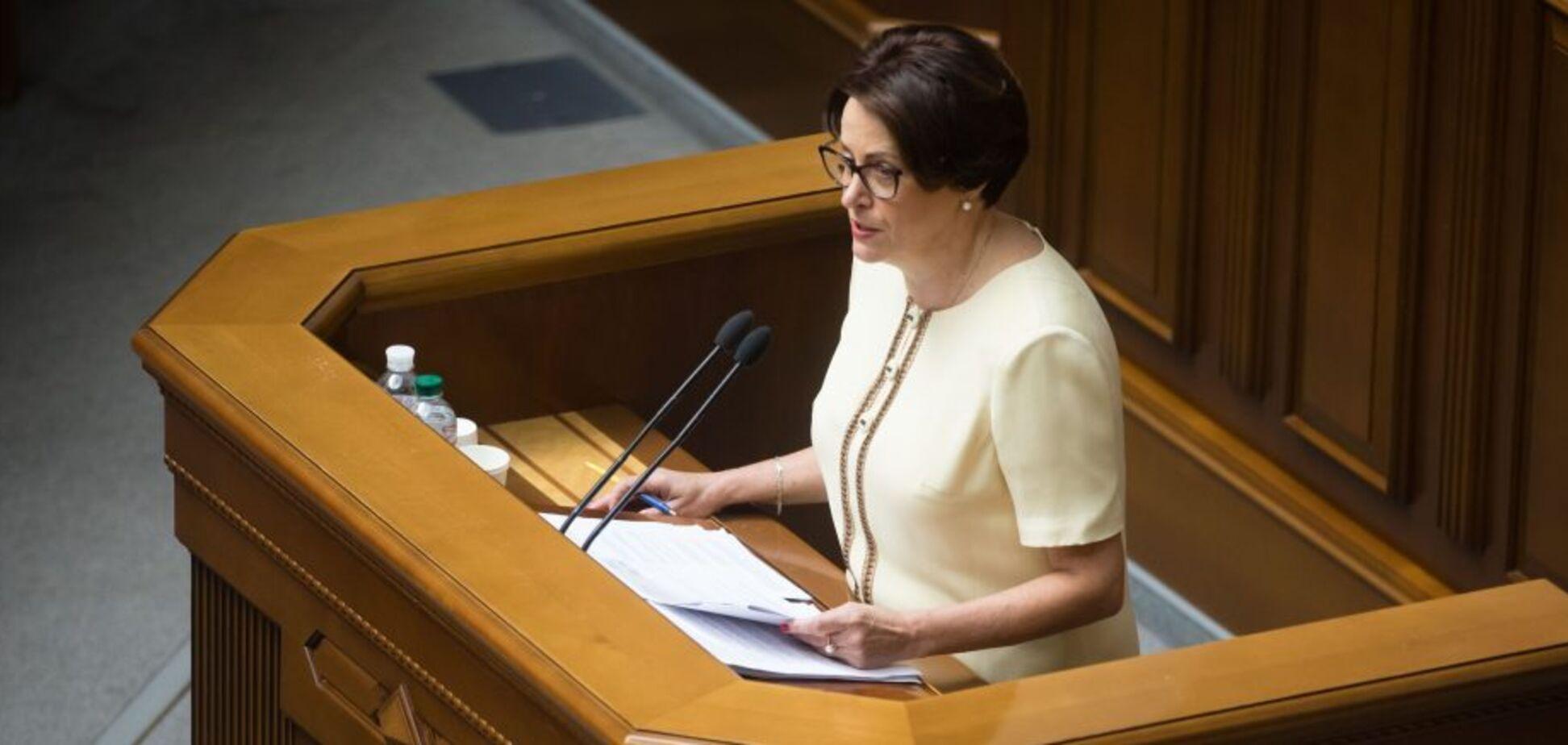 Южаніна закликала припинити законодавчий тиск на бізнес