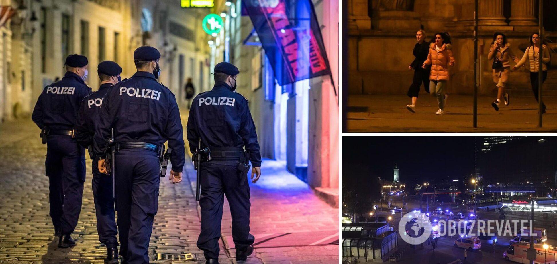 В Вене произошла масштабная атака со взрывом и стрельбой
