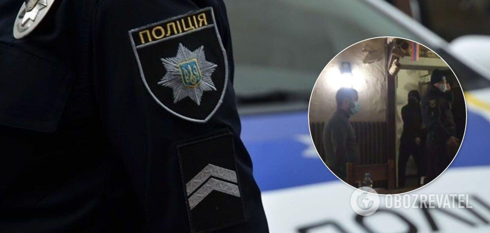 В Запорожье владелец кафе ударил активиста тортом в лицо