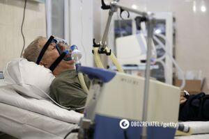 В Украине оборудовали меньше половины мест с кислородом для больных COVID-19: 'слуга' показала документ