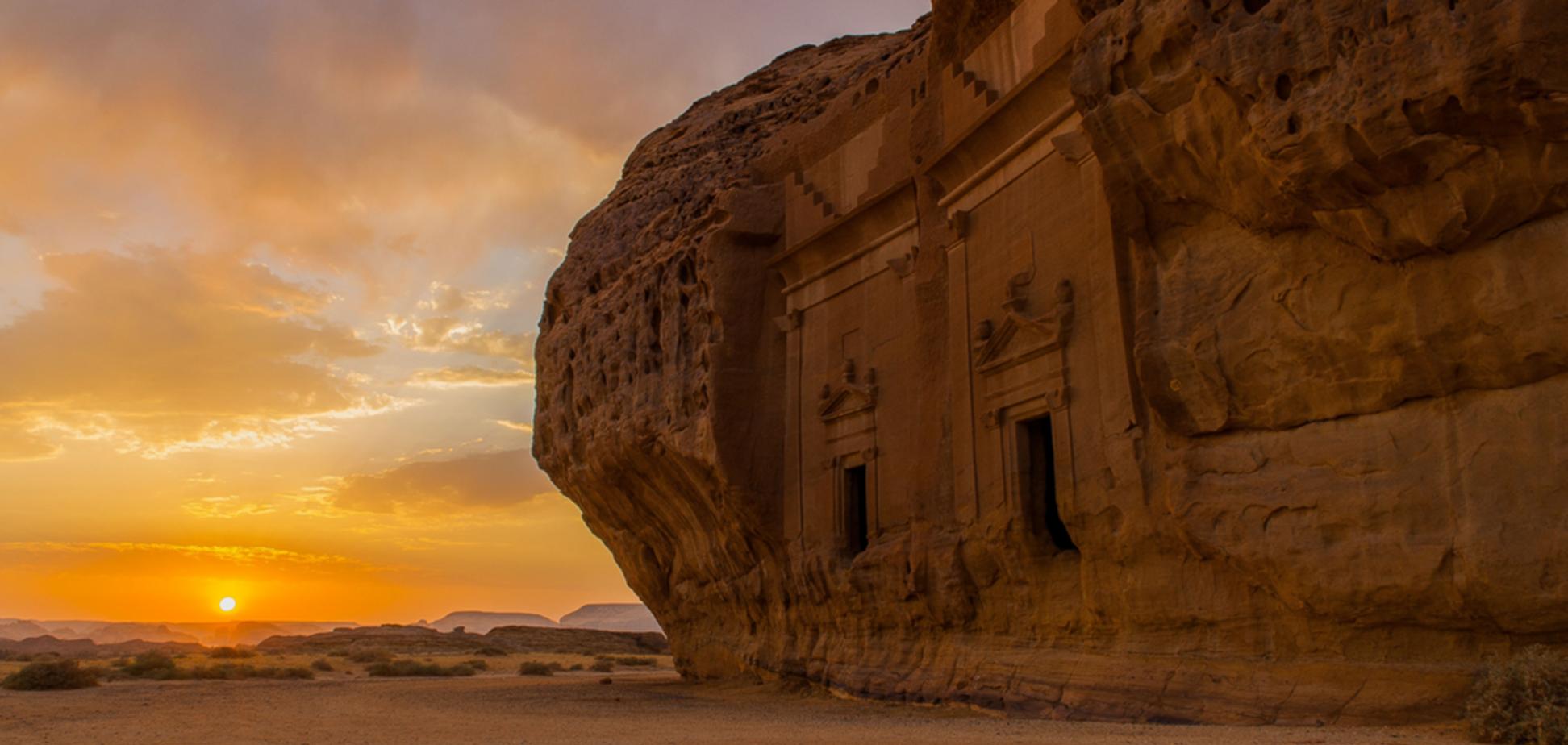Древнюю Хегру в Саудовской Аравии открыли для туристов