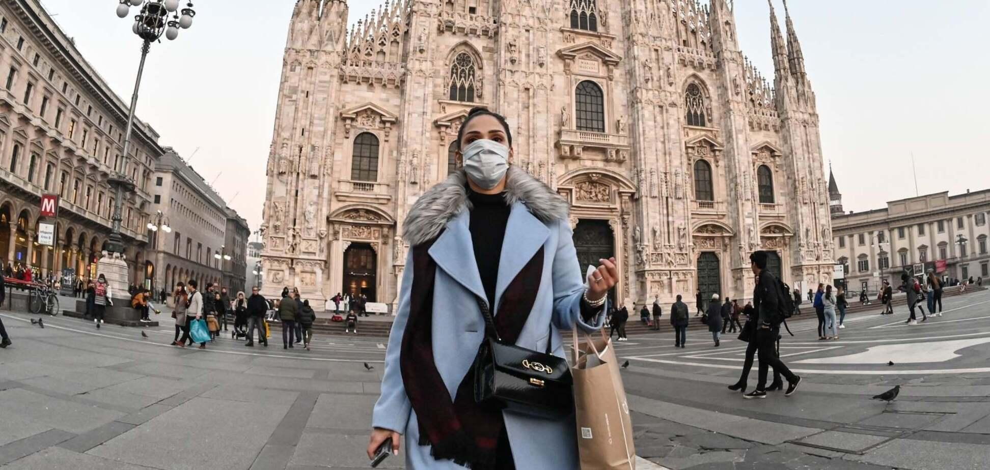 Итальянцам запретят праздновать Новый год на улице