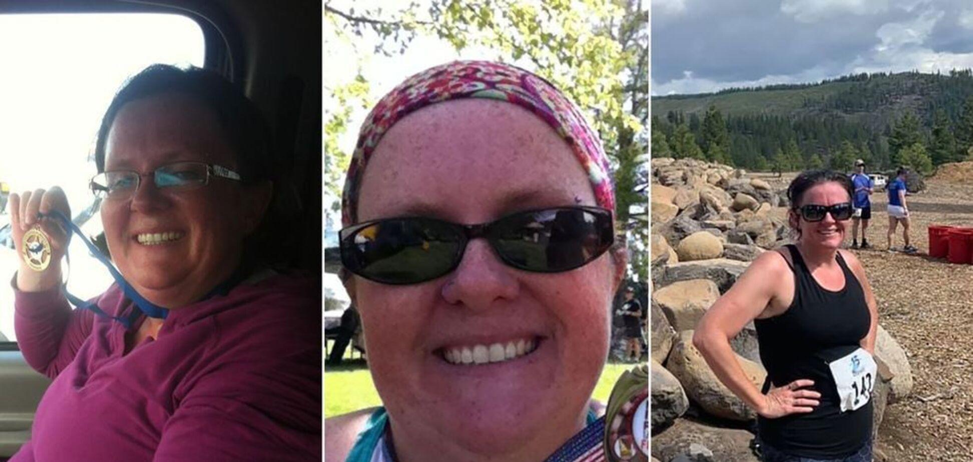 Сэнди Фонтес похудела на 55 килограммов