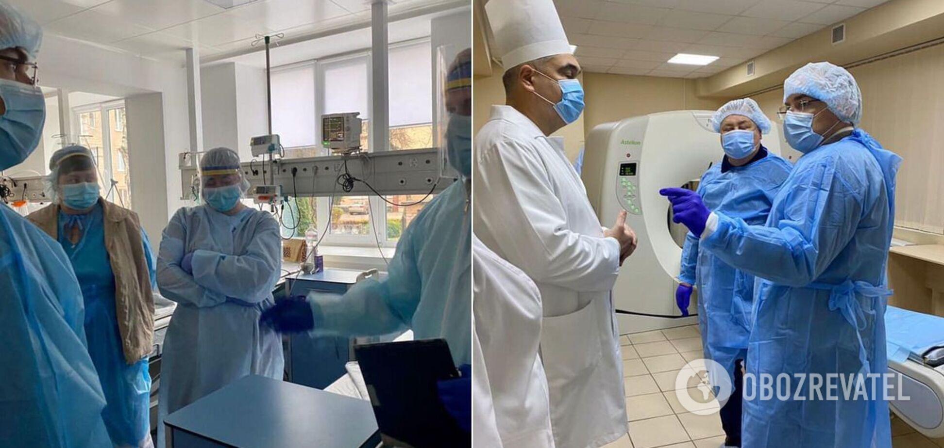 Степанов без предупреждения проверил больницы Житомира