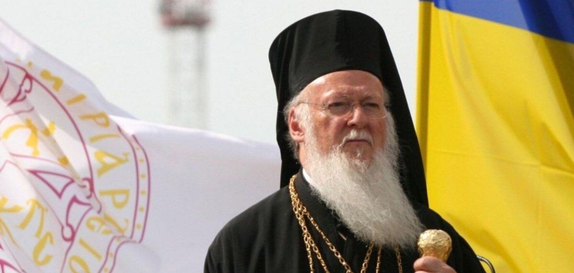 Варфоломей подтвердил намерение посетить Украину