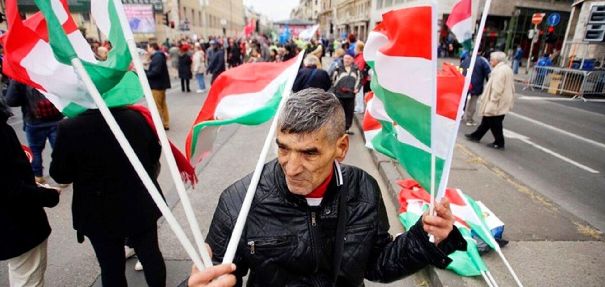 На Закарпатье депутаты приняли присягу под гимн Венгрии