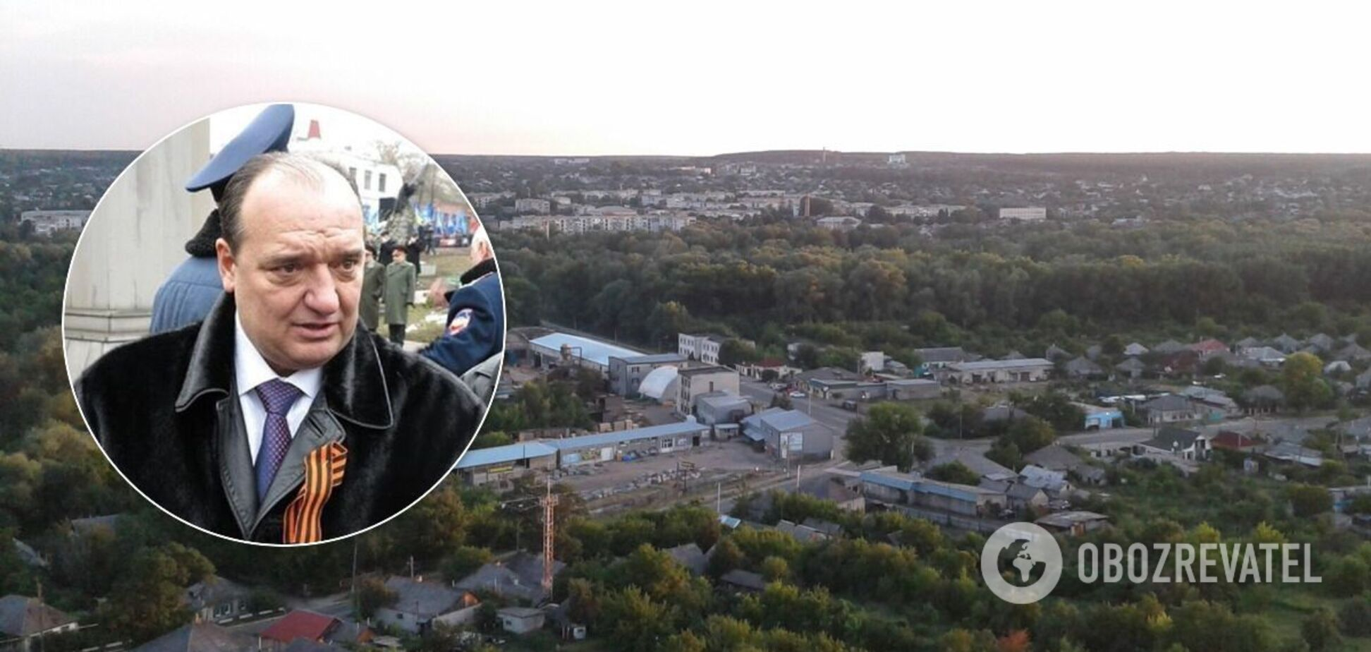 Сепаратист Володимир Струк став мером Кремінної