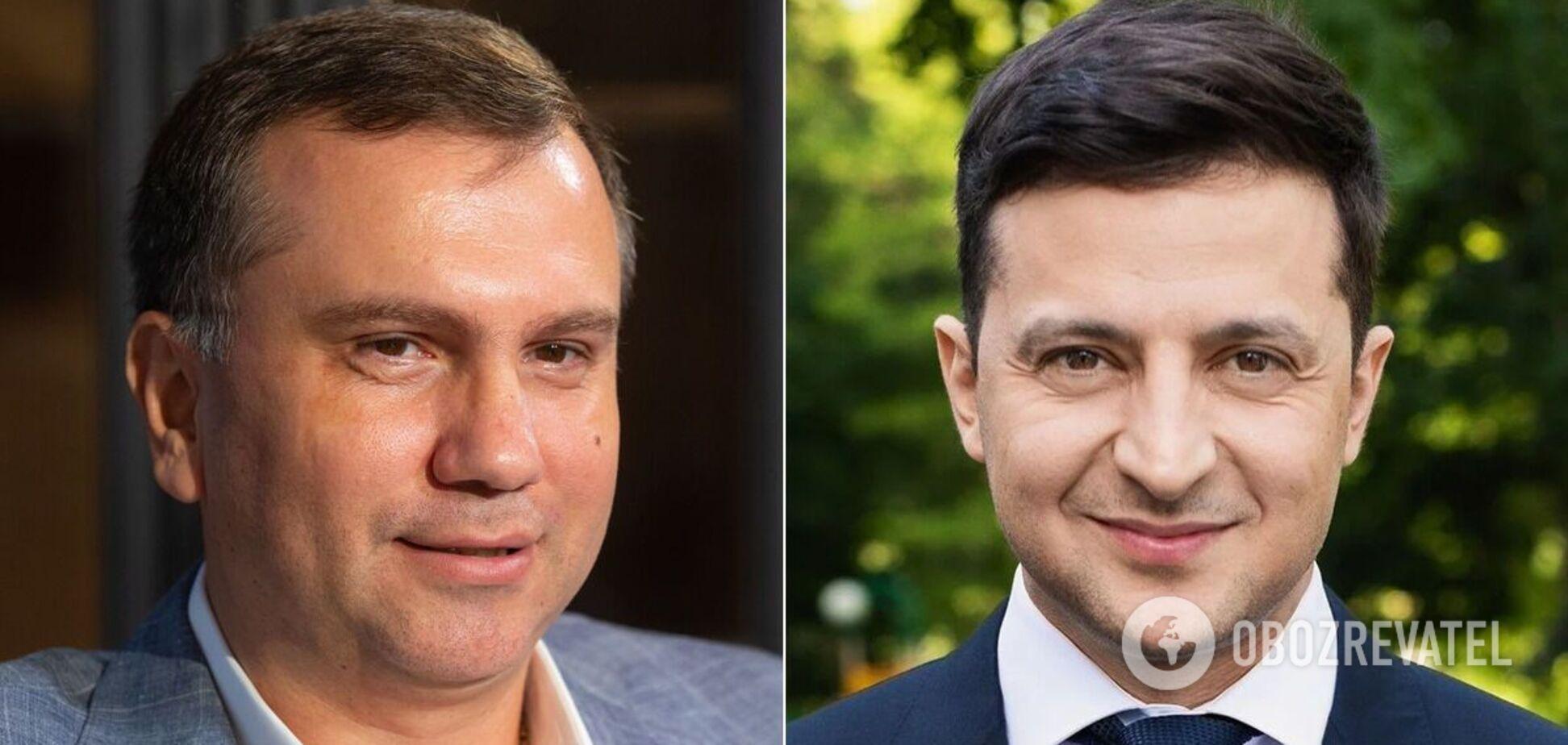 Павел Вовк и Владимир Зеленский
