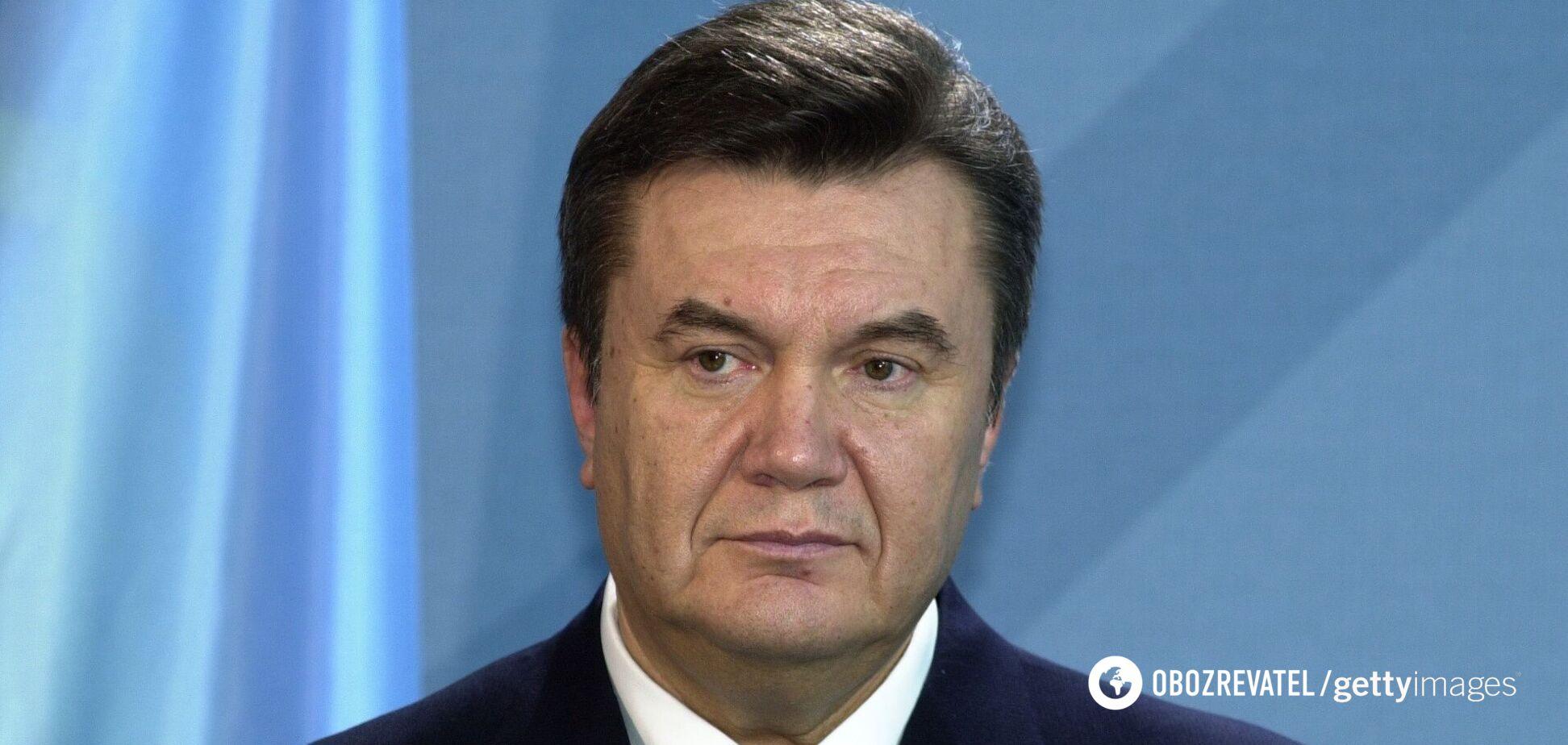 Беглый экс-президент Украины Виктор Янукович