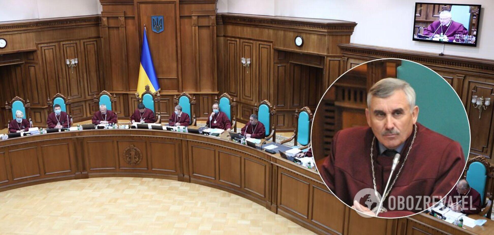 Суддя КСУ Сергій Сас