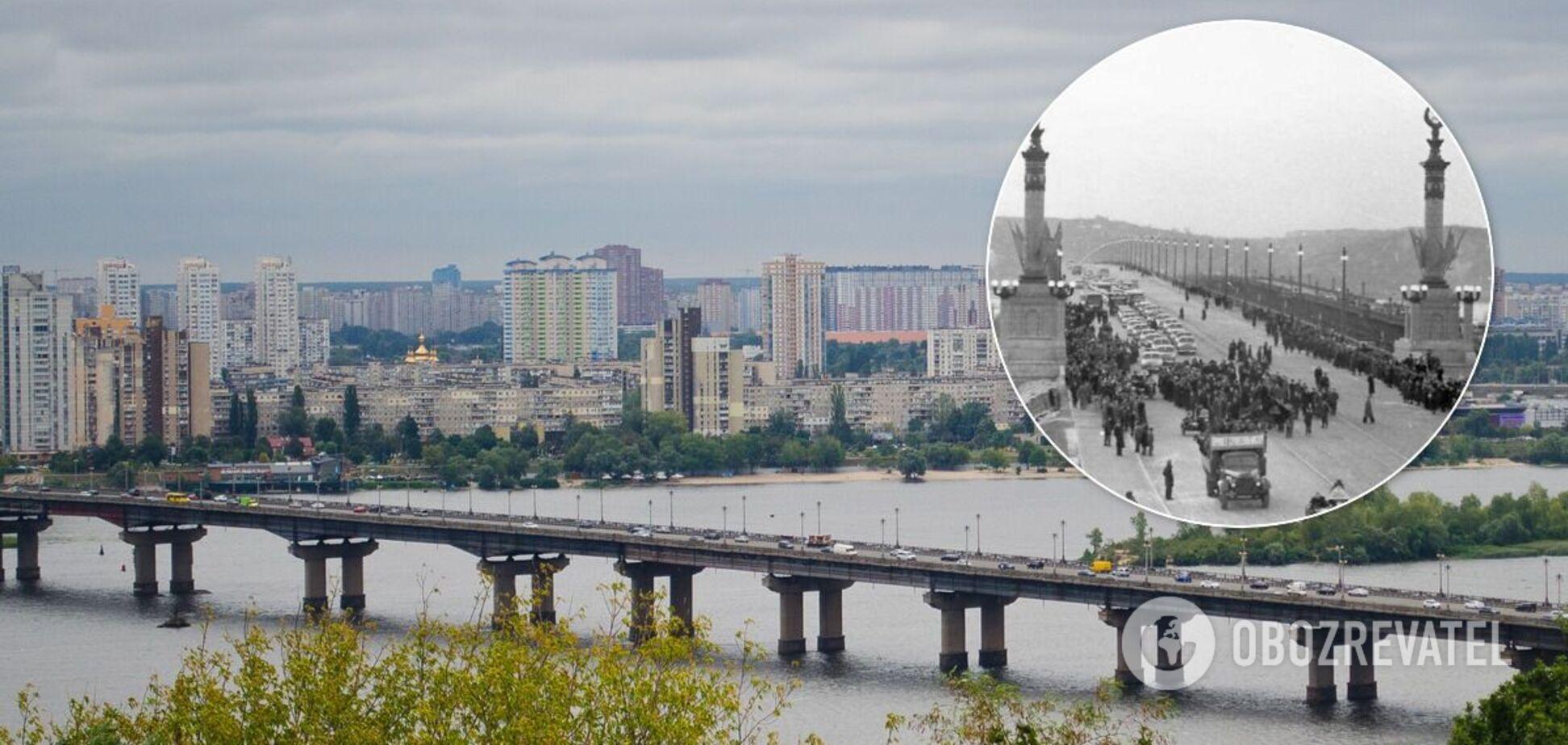 Рух мостом Патона відкрито 5 листопада 1953 року