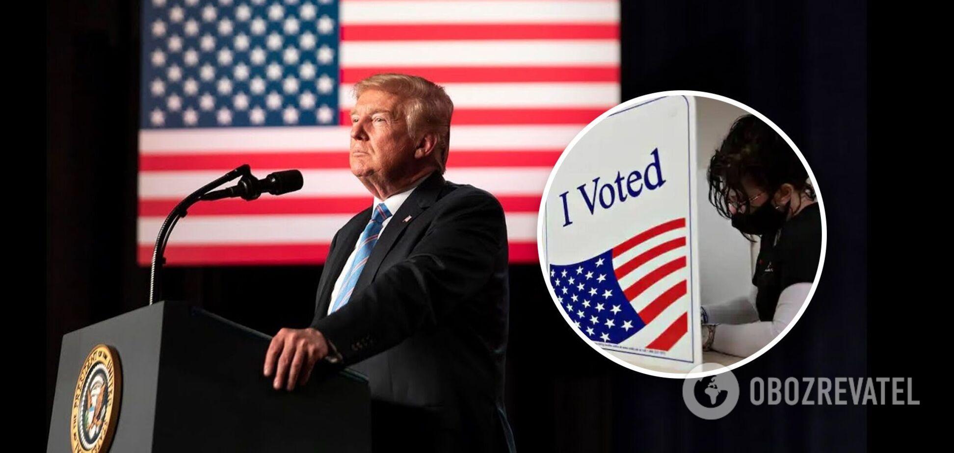 Трамп оголосив себе переможцем виборів в США