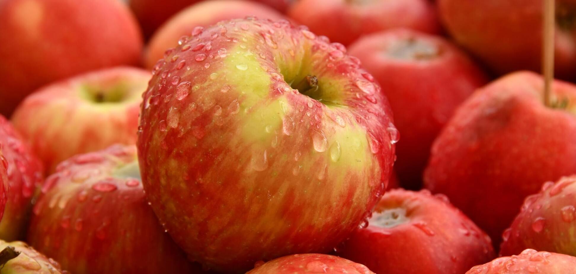 Яблоки считаются символом хорошего здоровья