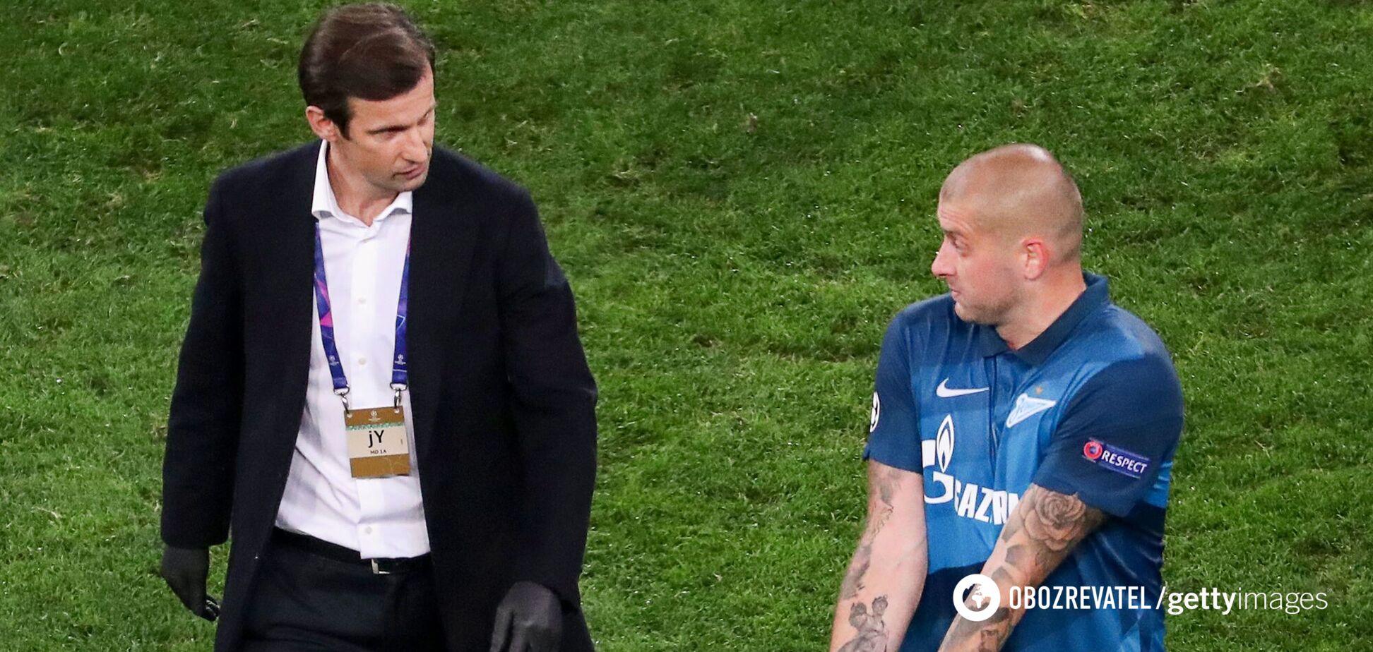 Сергей Семак и Ярослав Ракицкий
