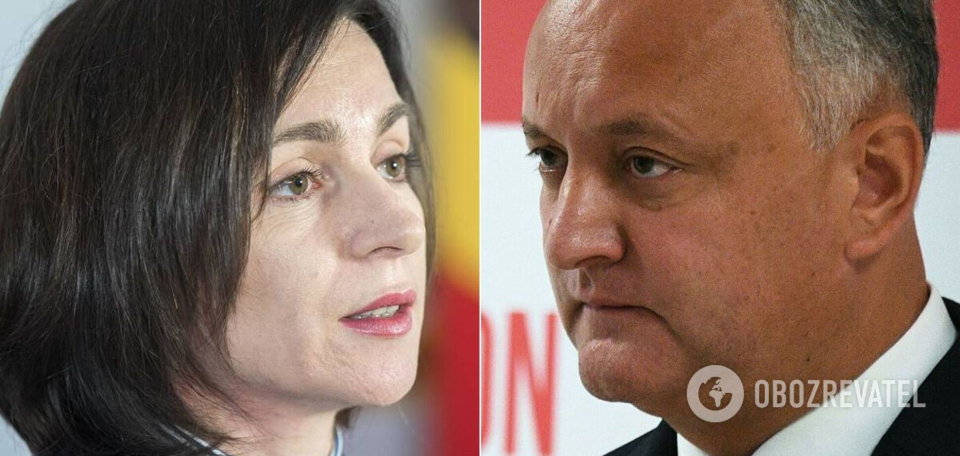 Во второй тур выборов президента Молдовы вышли Санду и Додон