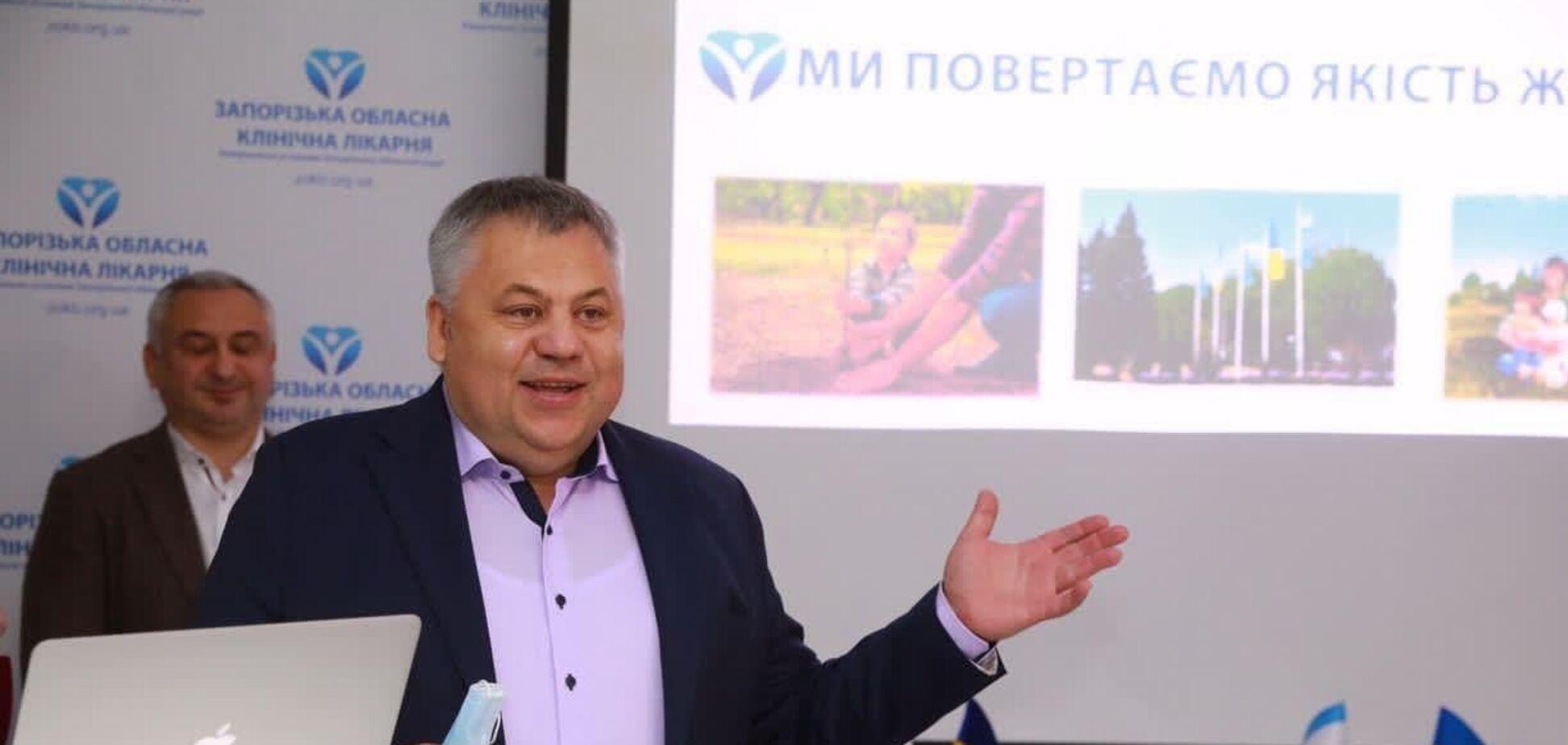 Виталий Боговин прокомментировал открытие центра телемедицины, созданного на базе Запорожской областной клинической больницы