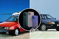 За цену iPhone можно приобрести целый автомобиль, который даже будет ездить