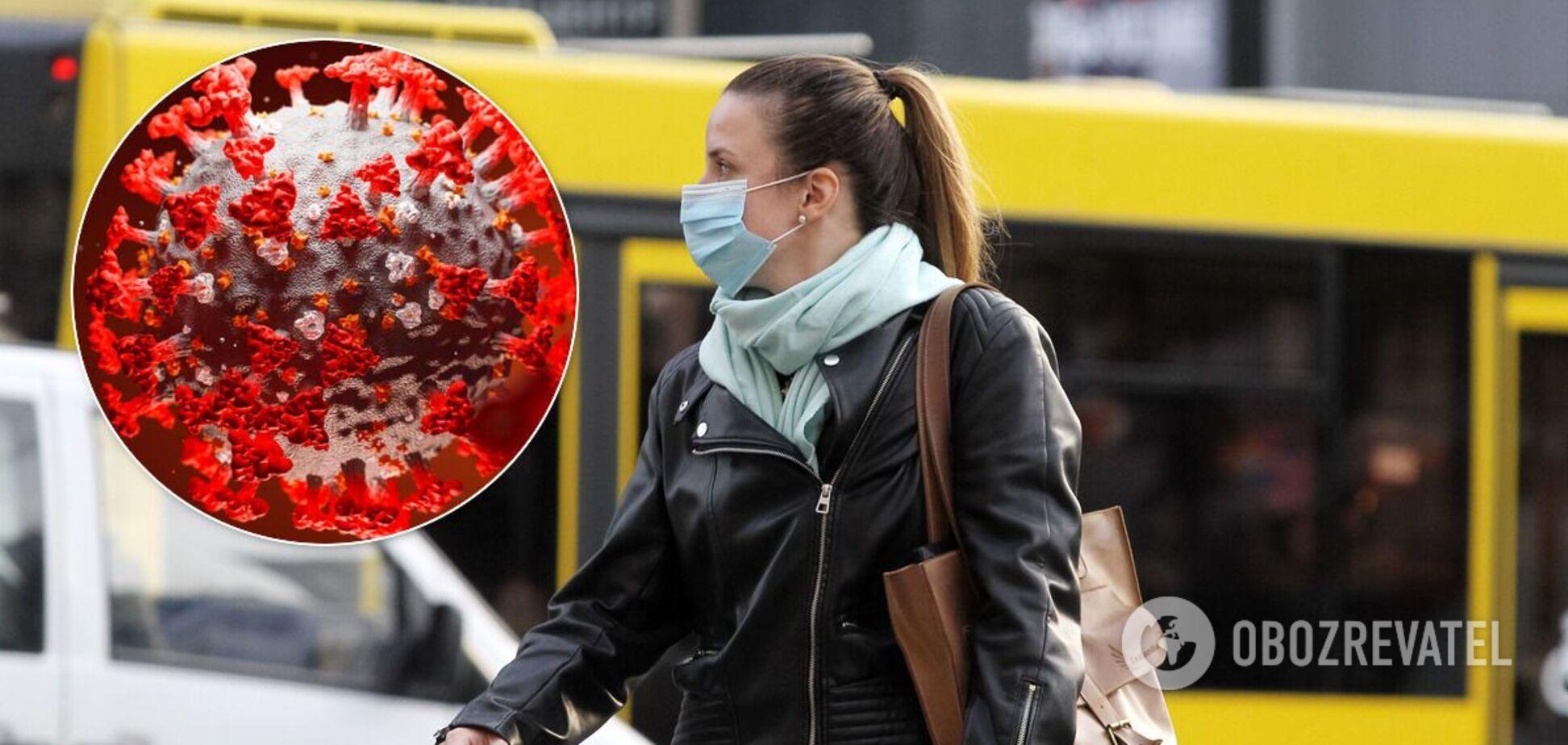 В Украине будут наказывать за маски на подбородках