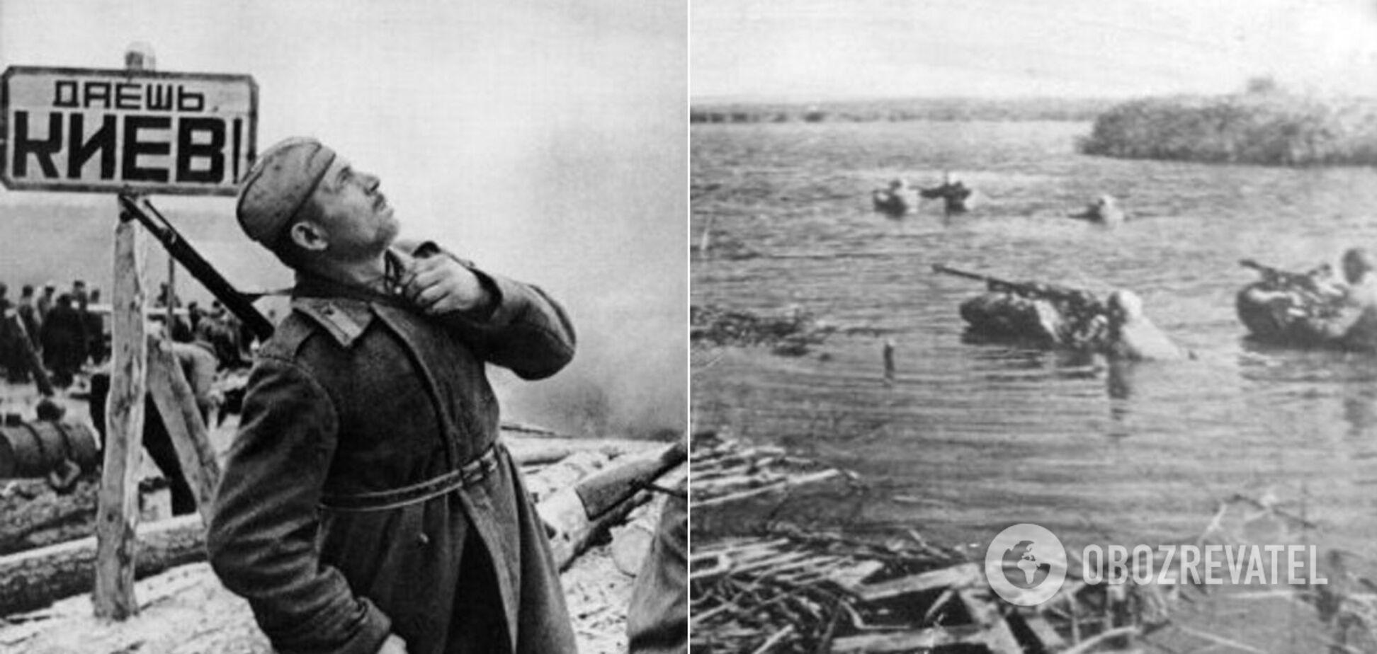 В 1943 году войска Первого Украинского фронта взяли столицу под свой контроль