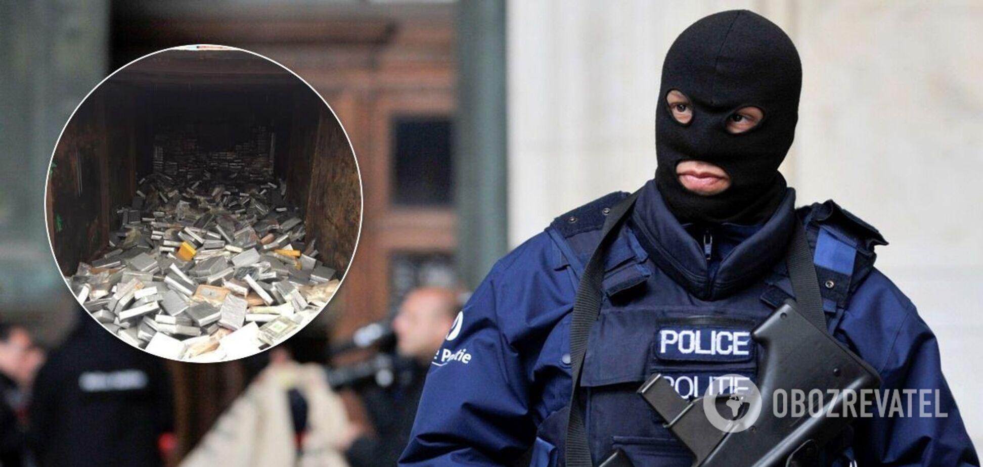 В Бельгии изъяли крупнейшую в истории партию наркотиков