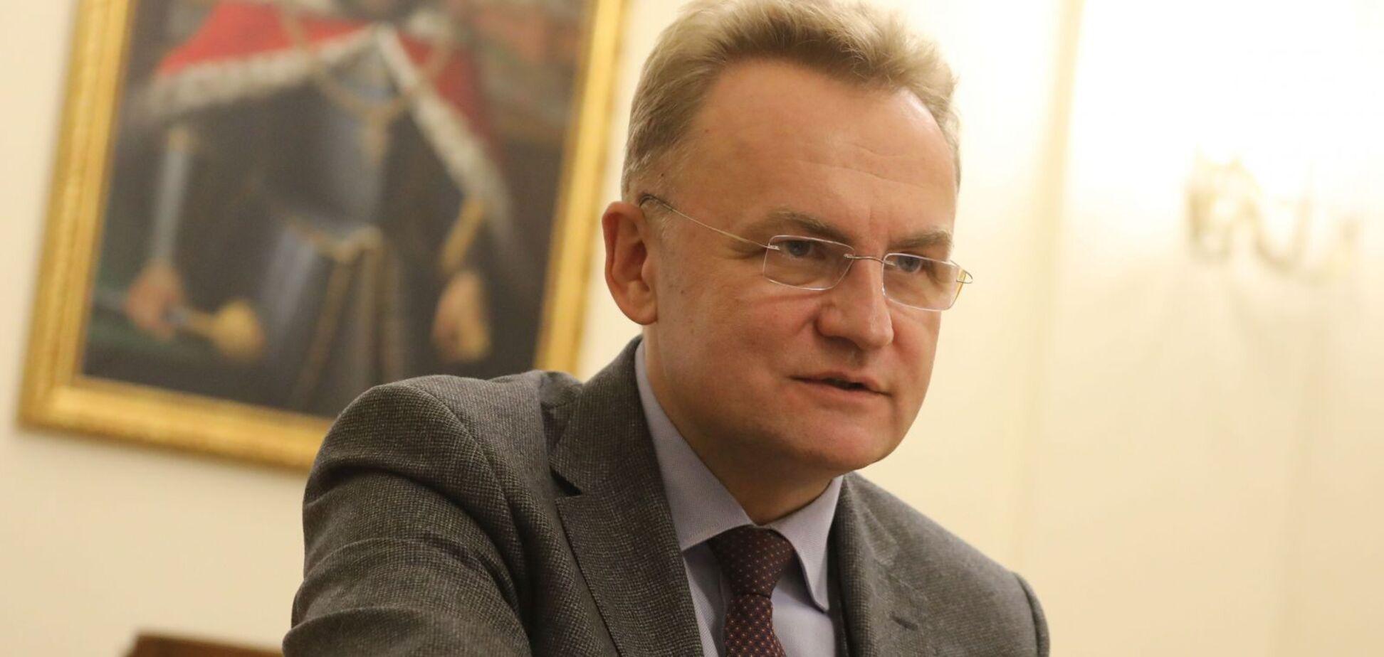 Телеканал 'Первый западный' обвинил Садового в клевете