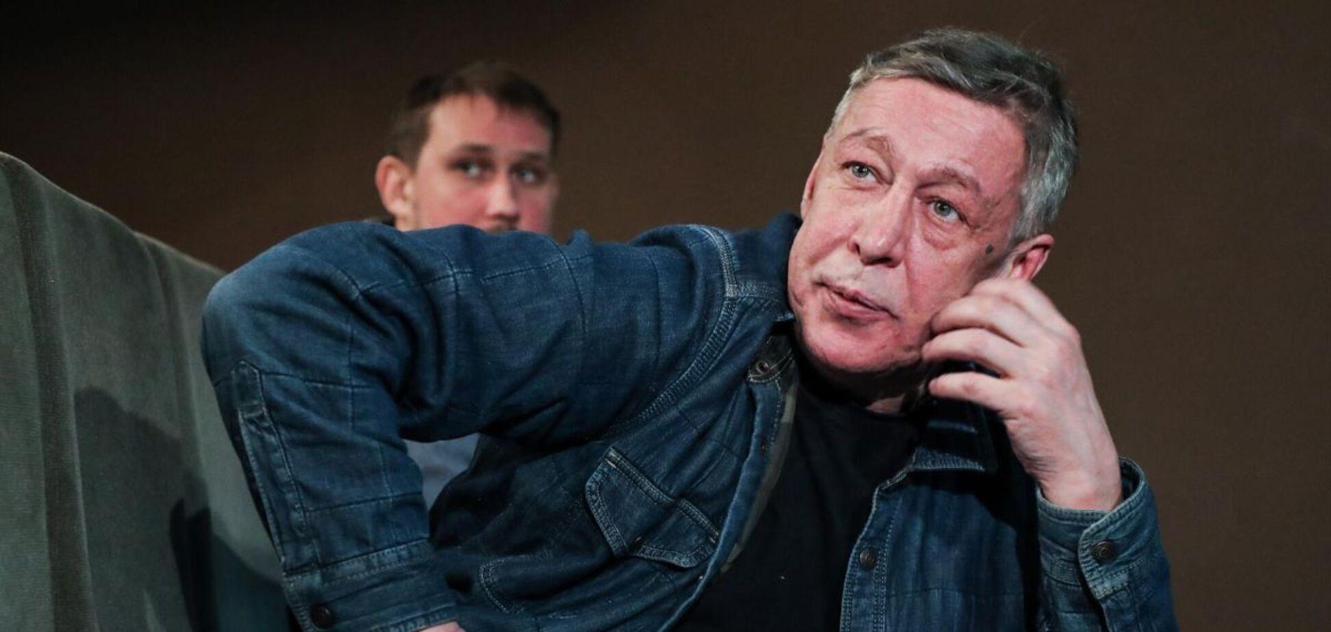 Осужденного Ефремова отправили из СИЗО в колонию. Видео