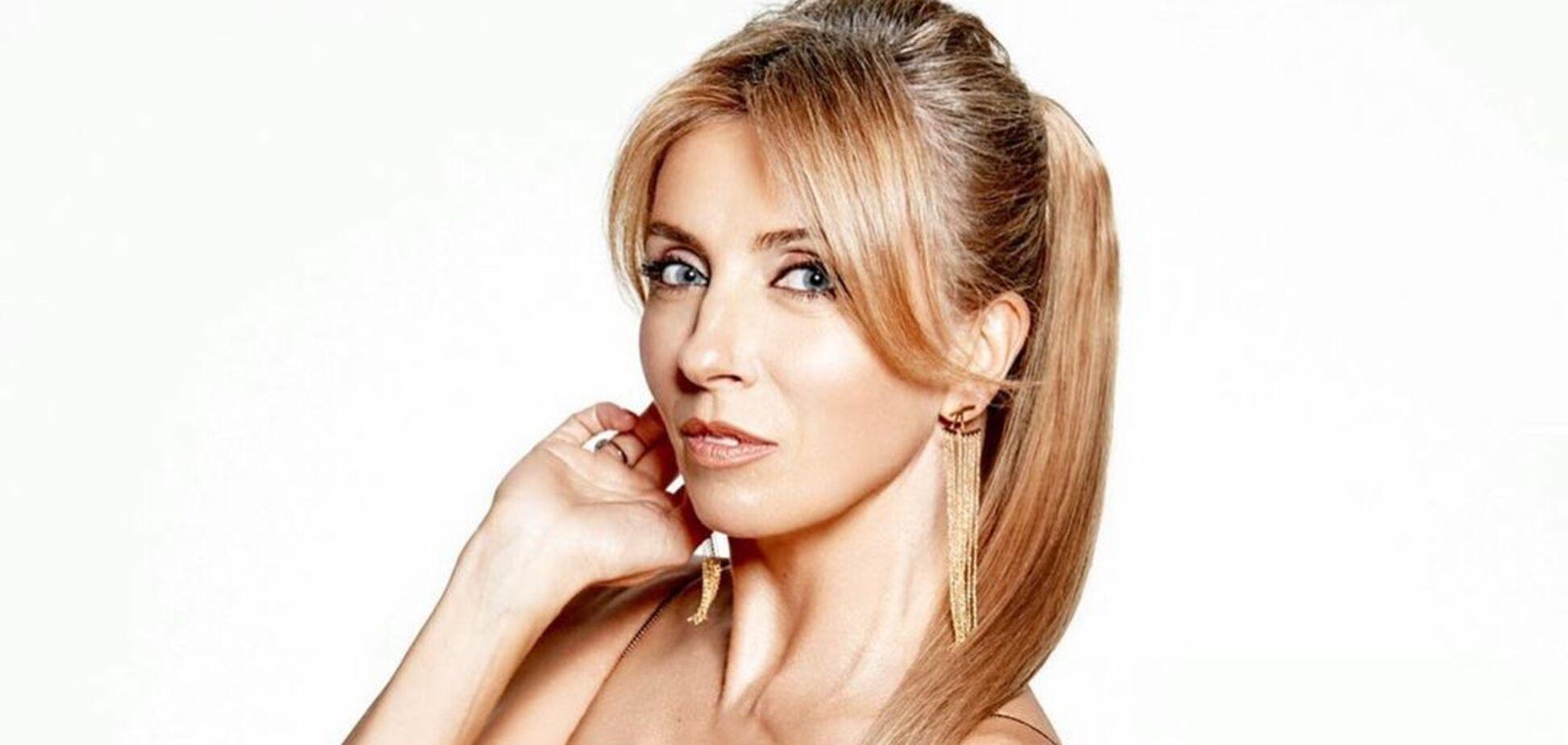 Экс-жена Бондарчука показала стройную фигуру в боди