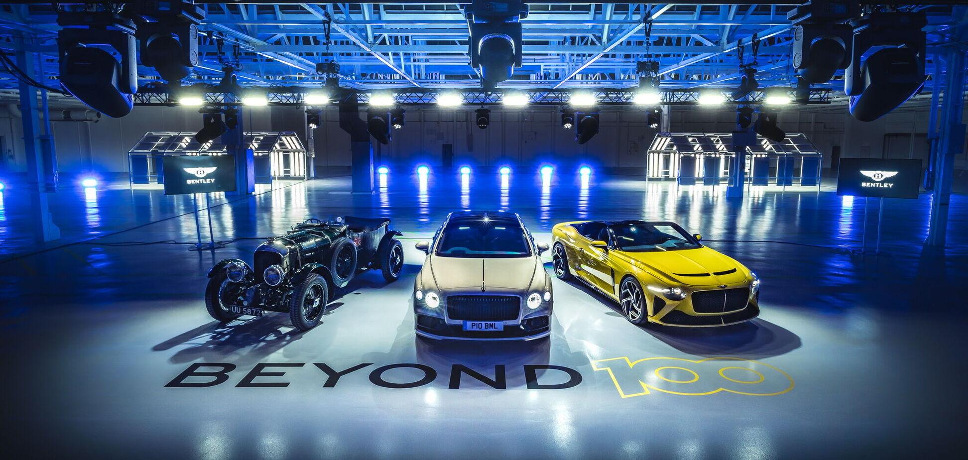 Bentley електрифікує всі свої моделі до 2026 року