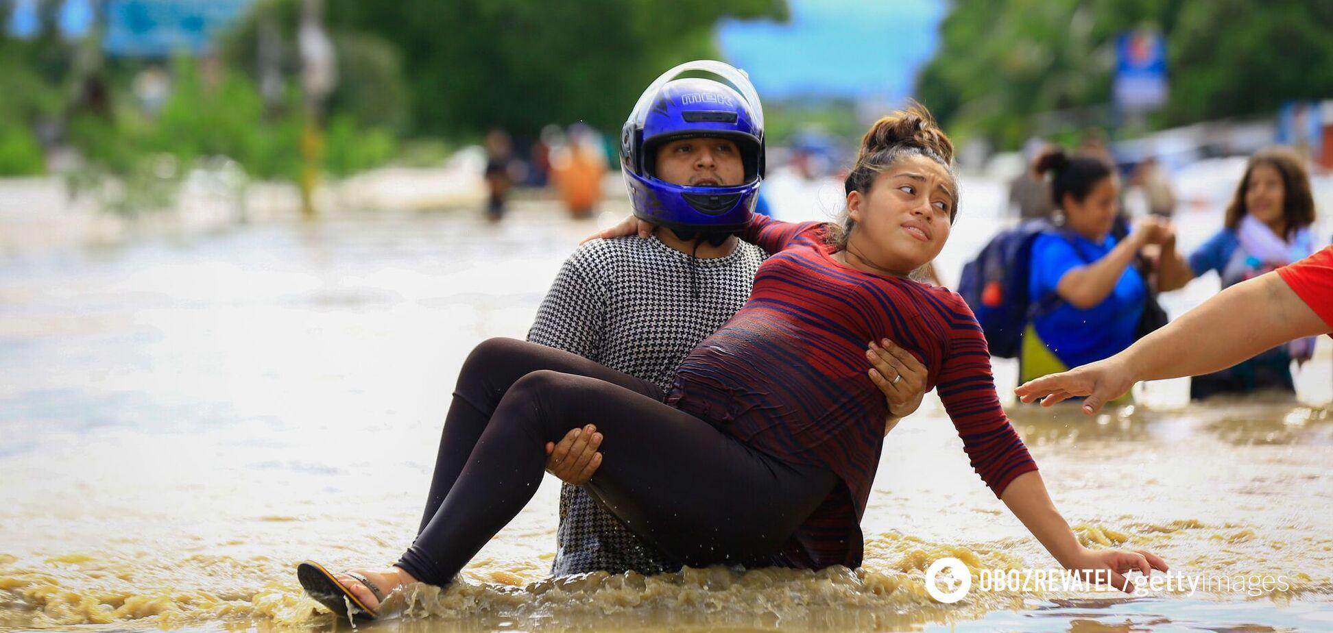Центральну Америку накрив ураган Ета