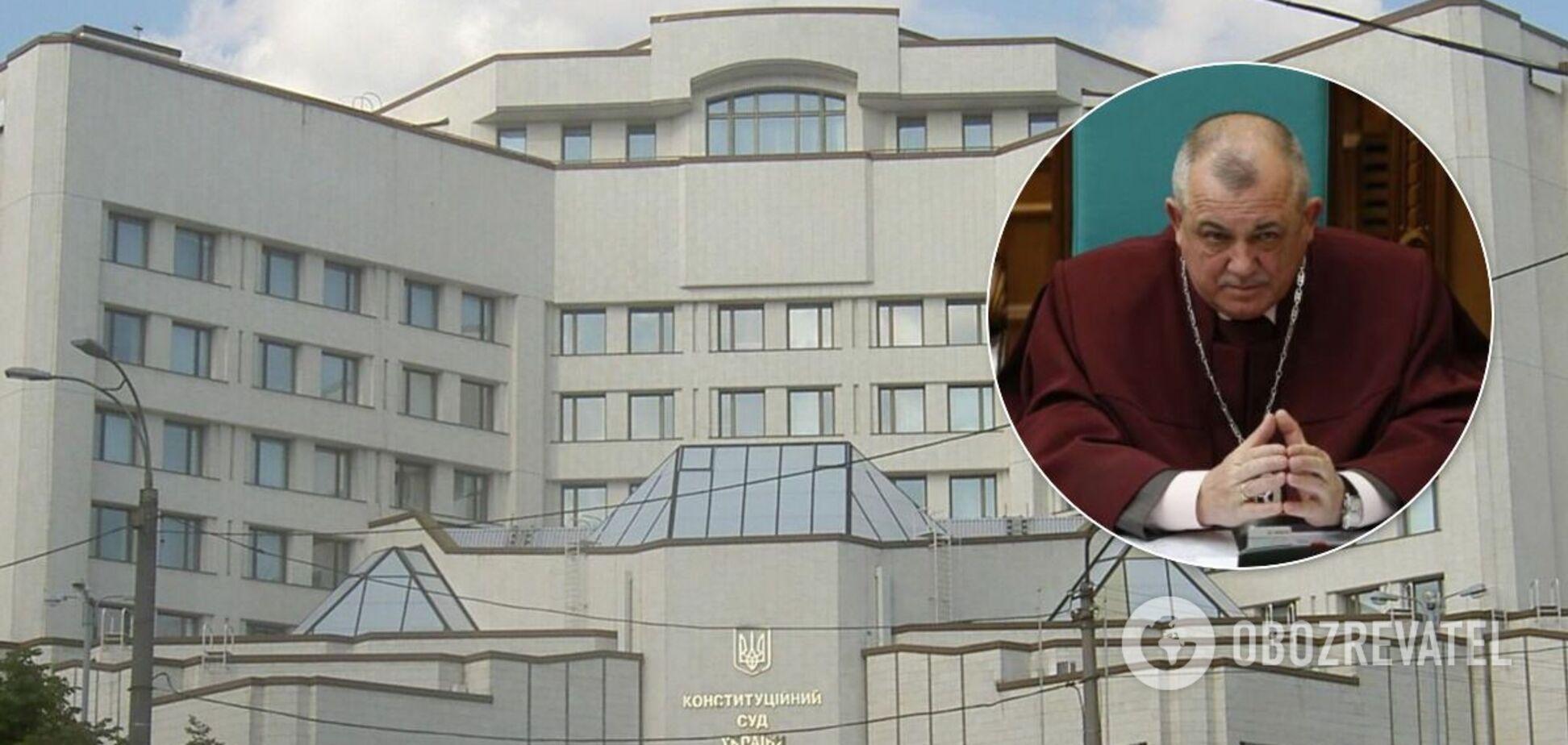 Суддя КСУ Мойсик висловив загальну позицію суду щодо виходу з кризи