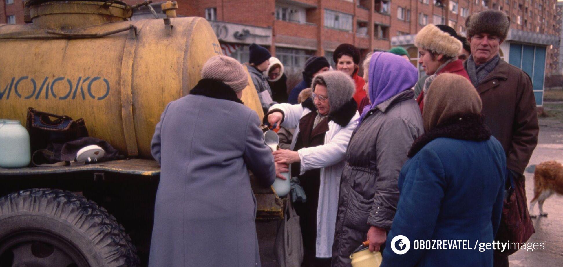 Полкило колбасы в одни руки, – на фото показали настоящую жизнь СССР