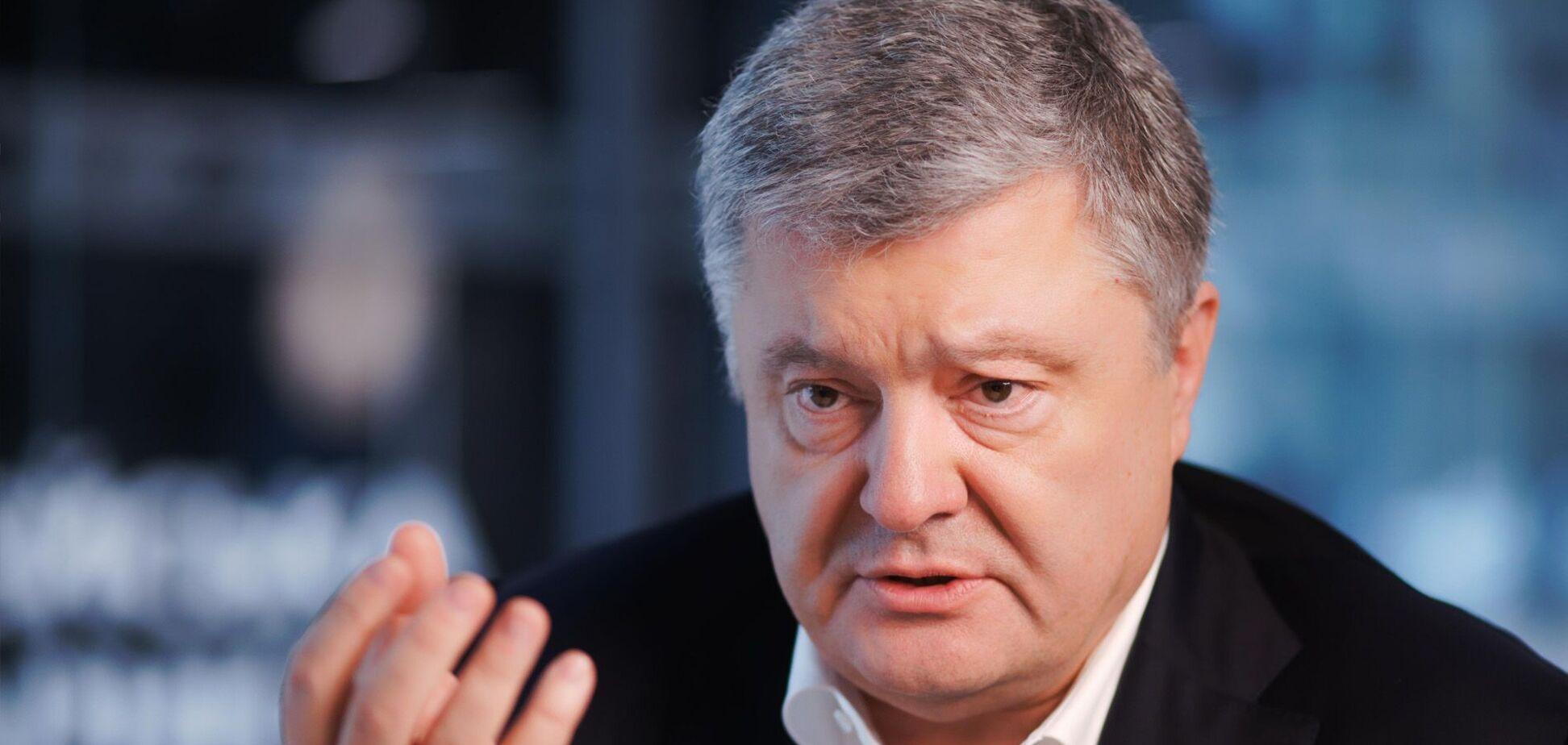 Порошенко высказался о санкциях против Лукашенко