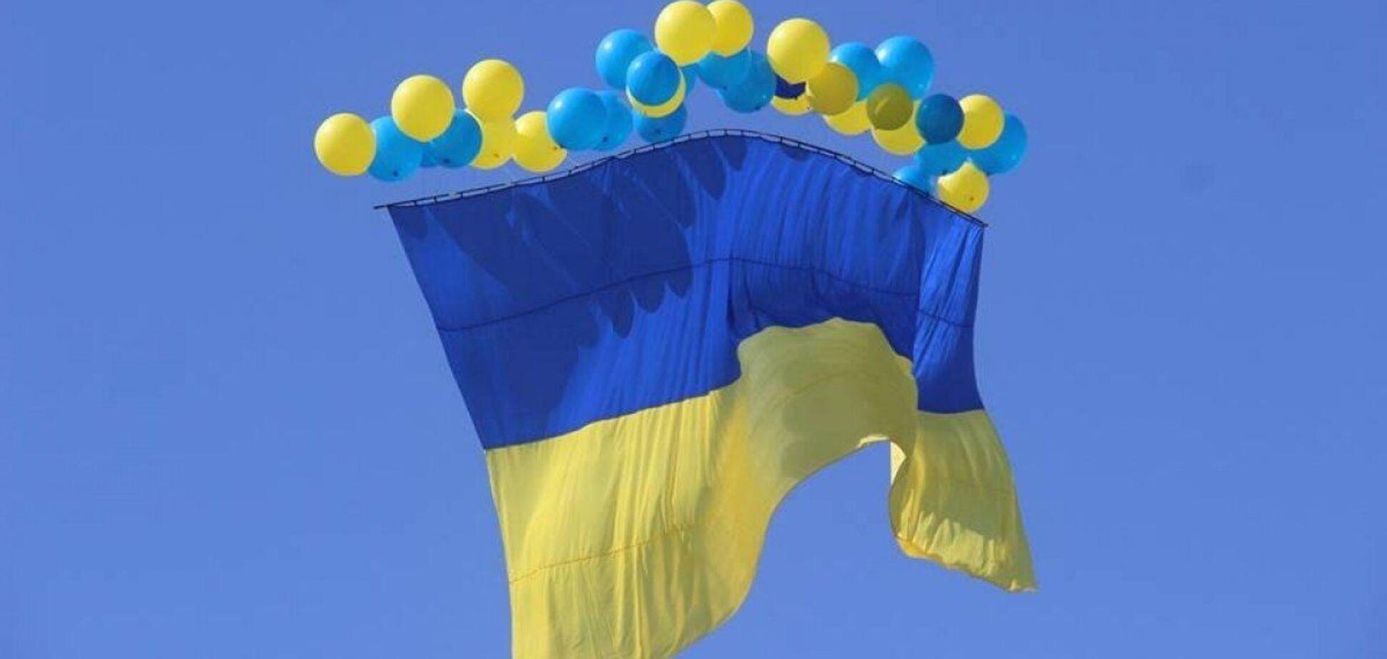 История украинского флага уходит корнями в Средние века