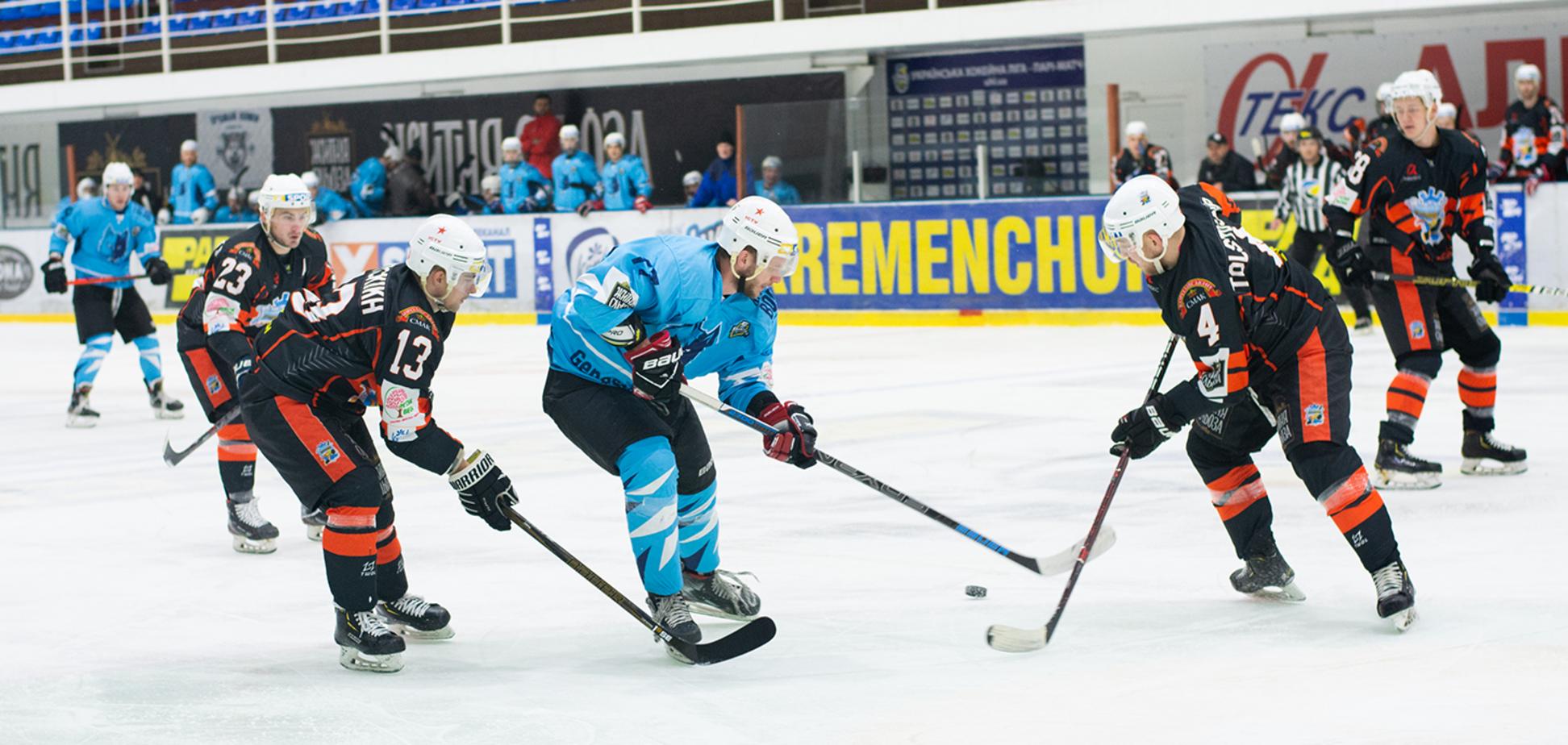 Дубль Савченко принес победу 'Кременчуку' в матче против 'Ледяных Волков'