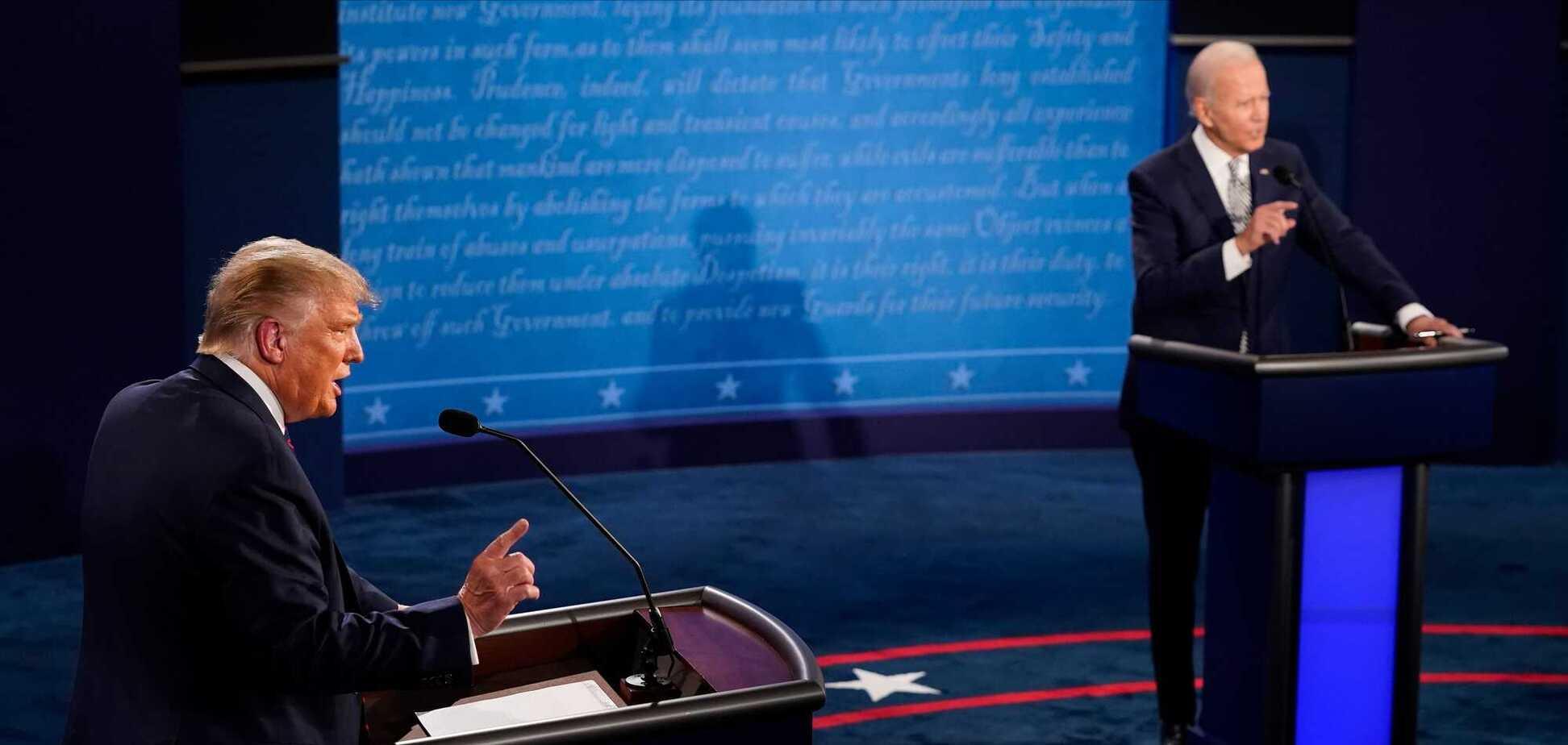 Виборчі пристрасті в США: Трамп б'ється в істериці